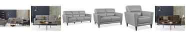 Furniture Tosella Leather Sofa Collection, Created for Macy's